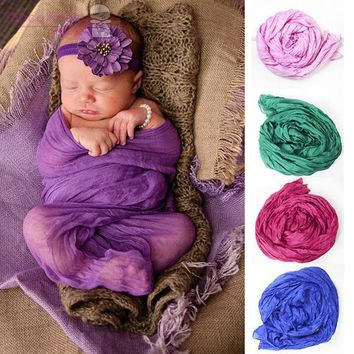 """Cheesecloth Infant Wrap Newborn Photo Prop- Photography Wrap- Maternity Wrap- Baby Maternity Prop 31""""x 68"""" long 20 Colors"""