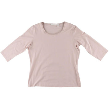BOSS Hugo Boss Womens Silk 3/4 Sleeves Pullover Top