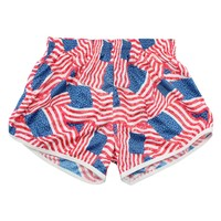 Patriotic Pride Womens Lacrosse Shorts | Lacrosse Unlimited
