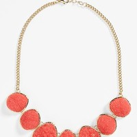 Junior Women's Stephan & Co. Glitter Stone Necklace