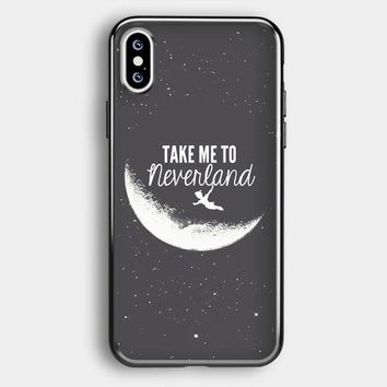 Peter Pan, Take To Me Neverland iPhone XS Max Case | Casefruits