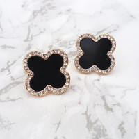 Cool Clover Earrings