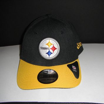 NEW ERA 39THIRTY NFL Pittsburgh Steelers HAT Cap NWT NFL FOOTBALL Small M Large