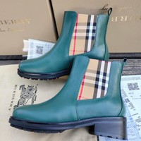 BURBERRY Leather Chelsea boots-1