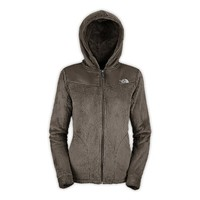 North Face Oso Hoodie Womens (X-Small, Weimaraner Brown)