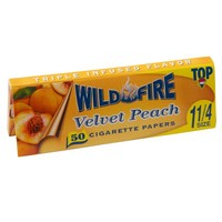 Top Wildfire - Velvet Peach Regular Size Rolling Papers - Single Pack