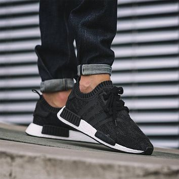 Adidas NMD R1 Primeknit Winter Wool BB0679 Boost Sport Running Shoes Classic Casual Shoes Sneakers