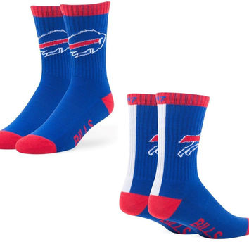 Buffalo Bills 47 Brand Blue Bolt Moisture Wicking Unisex Sport Socks