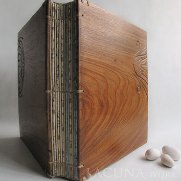 Photo album Wooden Covers Reclaimed wood