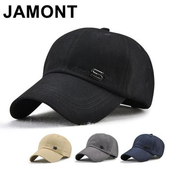 Trendy Winter Jacket Jamont Mens Cotton Baseball Cap Summer Autumn Golf Sun Hat Brand Bone Casquette Dad Hats Curved Visor Adjustable Snapback Caps AT_92_12