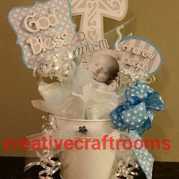 Baptism/Christening/Holy Communion Centerpieces