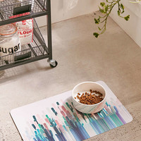 Iveta Abolina For Deny Cacti Stripe Pet Mat | Urban Outfitters