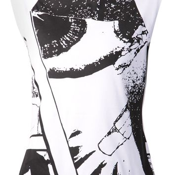 Y-3 graphic tank top