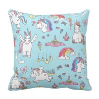 Natalias Unicorn Pillow