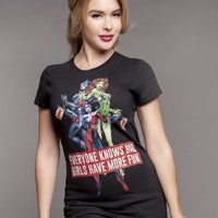 Gotham City Sirens Bad Girls T-Shirt