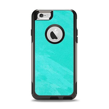 The Subtle Neon Turquoise Surface Apple iPhone 6 Otterbox Commuter Case Skin Set