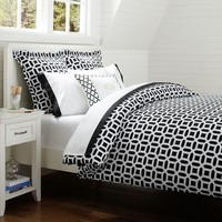 Peyton Duvet Cover + Sham, Royal Navy
