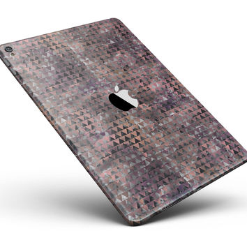 """Textured Triangle Pattern Full Body Skin for the iPad Pro (12.9"""" or 9.7"""" available)"""