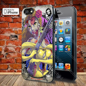 The Zombie Belle princess Case For iPhone 5, 5S, 5C, 4, 4S and Samsung Galaxy S3, S4