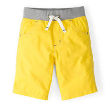 Rib Waist Carpenter Shorts