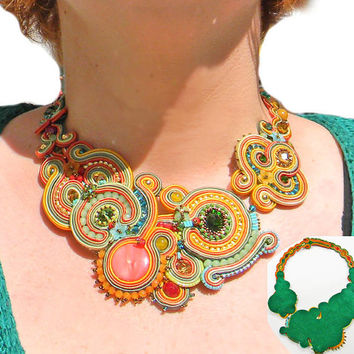 Spring necklace !  Made in Italy
