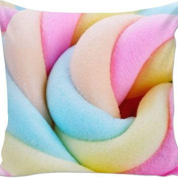ROCP Cotton Candy Colored Couch Pillow