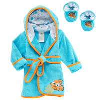 Disney Nemo Robe and Bootie Set