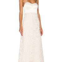 x REVOLVE Sandra Maxi Dress in Antique Lace