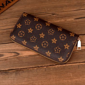 Zipper Wallet Purse