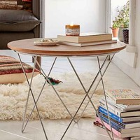 Banks Geometric Side Table
