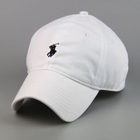 POLO Snapback Baseball Snapback Cap Hat Cotton Adjustable One Size