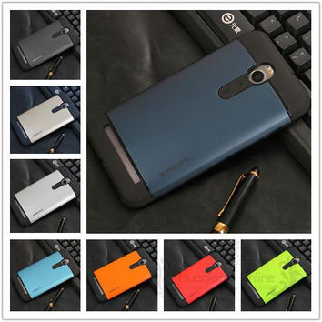 "Durable Hybrid Silicone Hard Back Shockproof Tough Slim Armor Case For ASUS Zenfone 2 5.5"" ZE551ML ZE550ML ZE551 ZE550 TPU Cases"