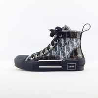 Christian Dior B23 High-Top Dior Oblique Sneakers