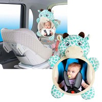 Baby Rear Facing Mirrors Safety Car Back Seat Easy View Mirror for Kids Toddler-m15