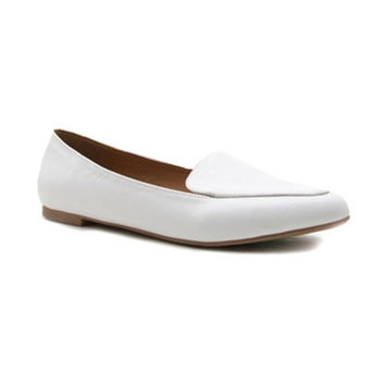 DeLaney Vegan Leather Loafer Flat