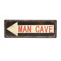 Man Cave Wall Decor Sign