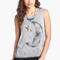 JC Fits Star & Moon Graphic Muscle Tank (Juniors) (Online Only) | Nordstrom
