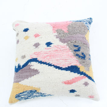 Woven Pillow Cartographer