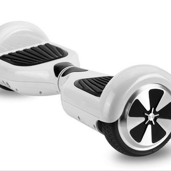 New hover boards Self Balancing Electric Unicycle Mini Scooter 2 Wheels White Free Shipping