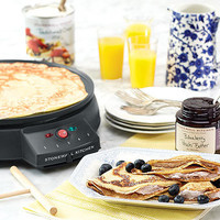 Cucinapro Crepe Maker | Specialty electrics | Stonewall Kitchen - Specialty Foods, Gifts, Gift Baskets, Kitchenware and Kitchen Accessories, Tableware, Home and Garden Décor and Accessories