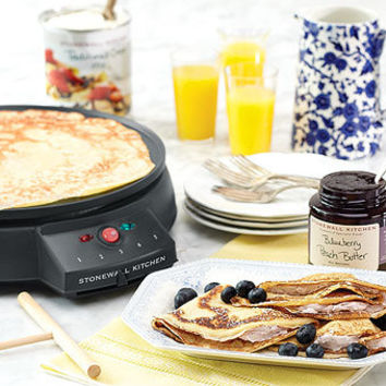 Cucinapro Crepe Maker   Specialty electrics   Stonewall Kitchen - Specialty Foods, Gifts, Gift Baskets, Kitchenware and Kitchen Accessories, Tableware, Home and Garden Décor and Accessories