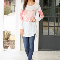 Someday Tunic - Coral