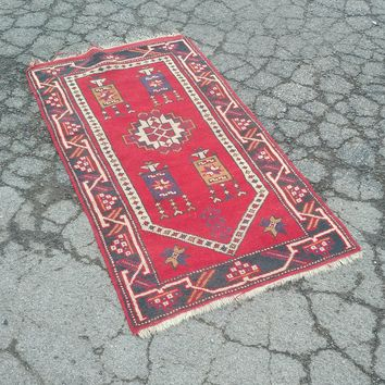 "Turkish Wool Rug - 31"" x 57"""