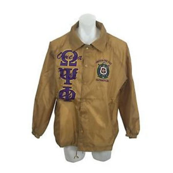 Omega Psi Phi Line Jacket (More Colors)