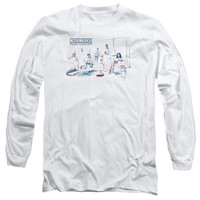 LAW & ORDER SVU/DOMINOS - L/S ADULT 18/1 - WHITE -