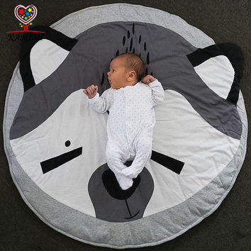 Baby blanket christmas gift Koala bear print KAMIMI newborn infant soft sleepping mat cotton soft baby climbing carpet A816