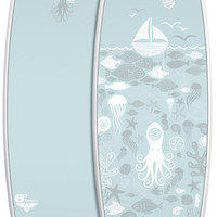 "Santacruz: 6' 0"" Pumpkin Seed Girls Squid PowerLyte"