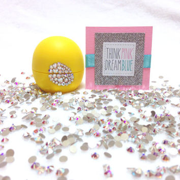 Limited Edition Lemon Drop Swarovski Crystallized EOS Lip Balm