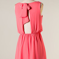 Hide and Go Chic Dress - Coral - Hazel & Olive