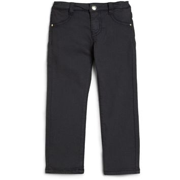 Armani Junior Girls Navy Blue Jeggings